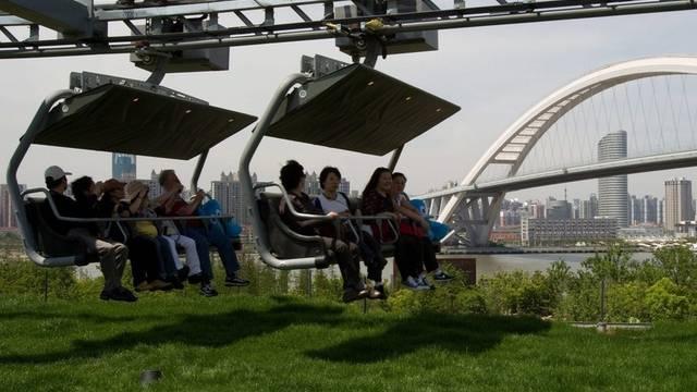 Sesselbahn ist an der Expo ein Renner (Archiv)