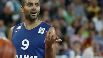 Frankreichs Tony Parker überragender Spieler gegen Spanien.