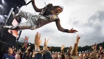 Skunk-Anansie-Fronfrau Skin geniesst einen musikalischen Höhenflug. In Sachen Politik sieht es in der Heimat der Britin düsterer aus. (Archivbild)
