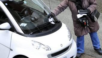 Auch die Falschparker aus der Schweiz werden in Deutschland zur Kasse gebeten. Key