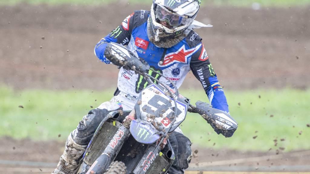 Der Schweizer Motocross-Fahrer Jeremy Seewer (Archivbild)
