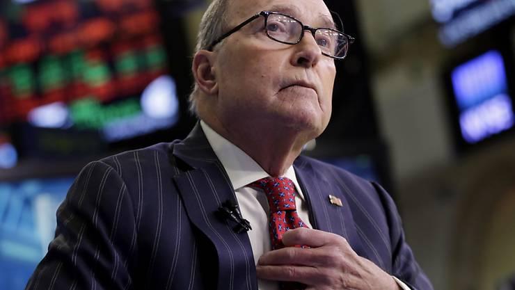 Kündigt Steuersenkungen im Wahlkampf an: Larry Kudlow, US-Präsident Donald Trumps Wirtschaftsberater. (Archivbild)