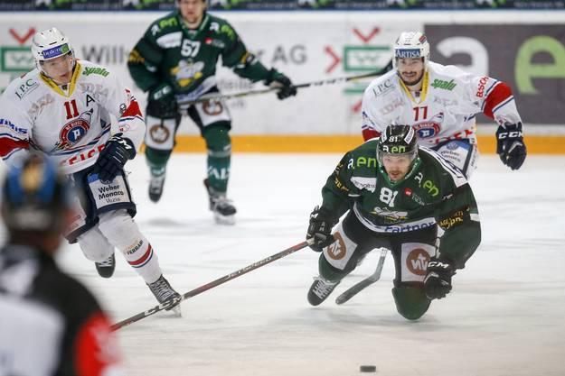 Evgeni Chiriaev gegen Christian Pinana.