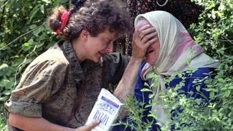 8372 Männer und Buben zwischen 13 und 78 Jahren wurden in Srebrenica von den bosnisch-serbischen Truppen unter Ratko Mladic ermordet.