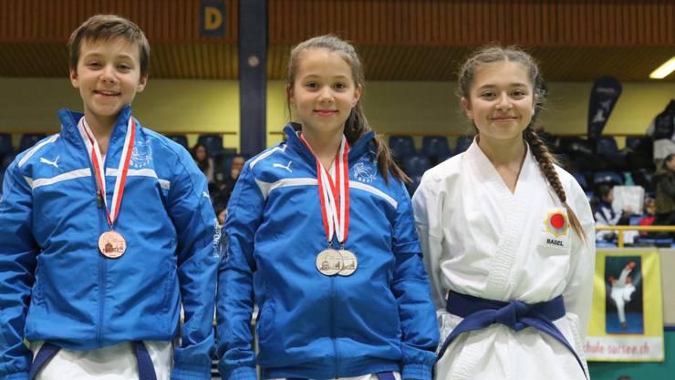 Von links nach rechts: Jan Haag, Nora Haag und Giulia Rota
