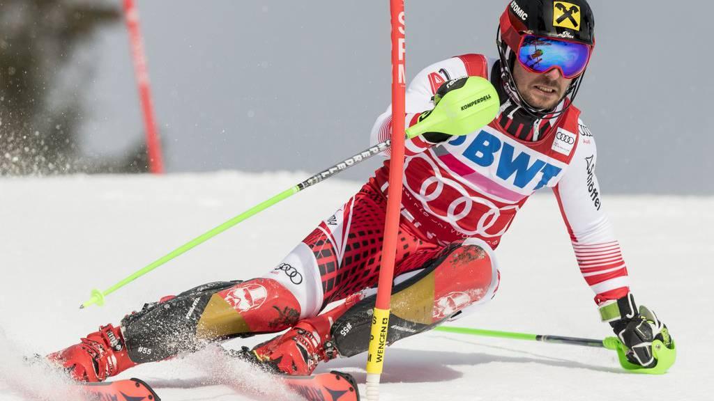 Marcel Hirscher hat elf der letzten vierzehn Slalomrennen gewonnen.