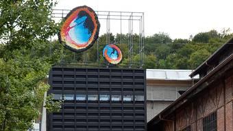 Sonja Feldmeiers Kunstwerk «Funken Flunkern» auf dem Dach solldas neue Wahrzeichen des Jugendkulturlokals Werkk werden. Daniel Vizentini