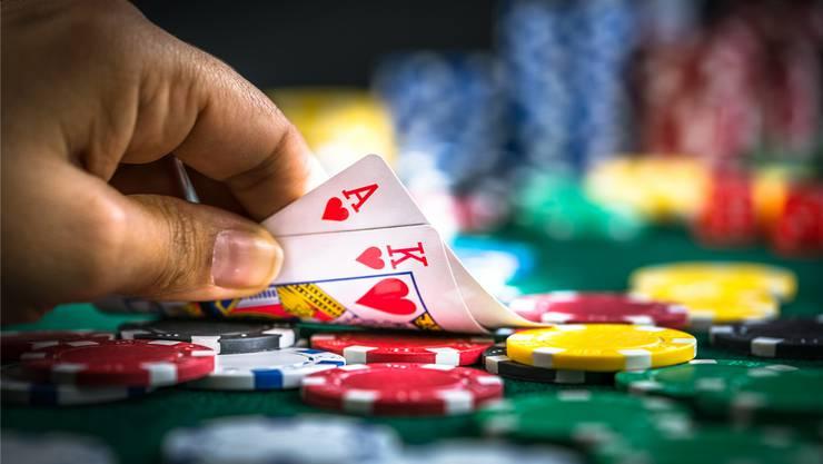 Bald können im Aargau kleine Pokerturniere durchgeführt werden. Symbolbild