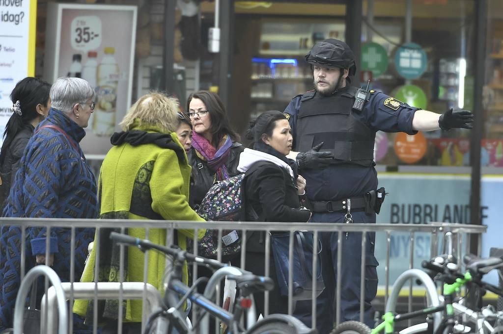 Attacke in Stockholm (© Keystone)