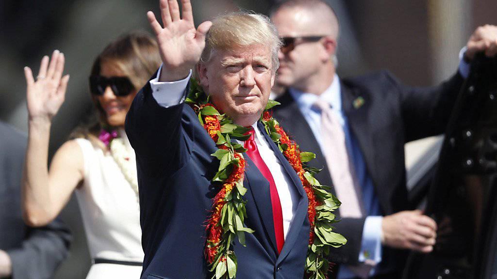 US-Präsident Donald Trump hat sich nicht gegen die Veröffentlichung eines US-Klimareports gestemmt, obwohl er in Teilen seiner Ansicht zum Klimawandel widerspricht.