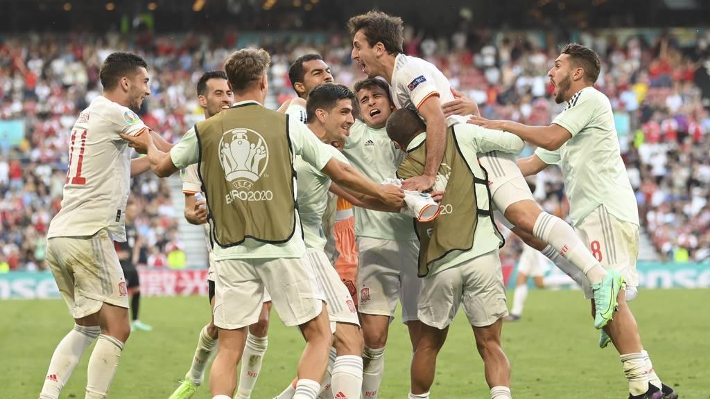Nach 120 Minuten Fussball-Krimi: Spanien gewinnt gegen Kroatien
