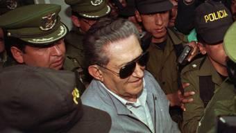 Boliviens Ex-Diktator Luis García Meza ist im Alter von 88 Jahren in einem Militärspital gestorben. (Archiv)