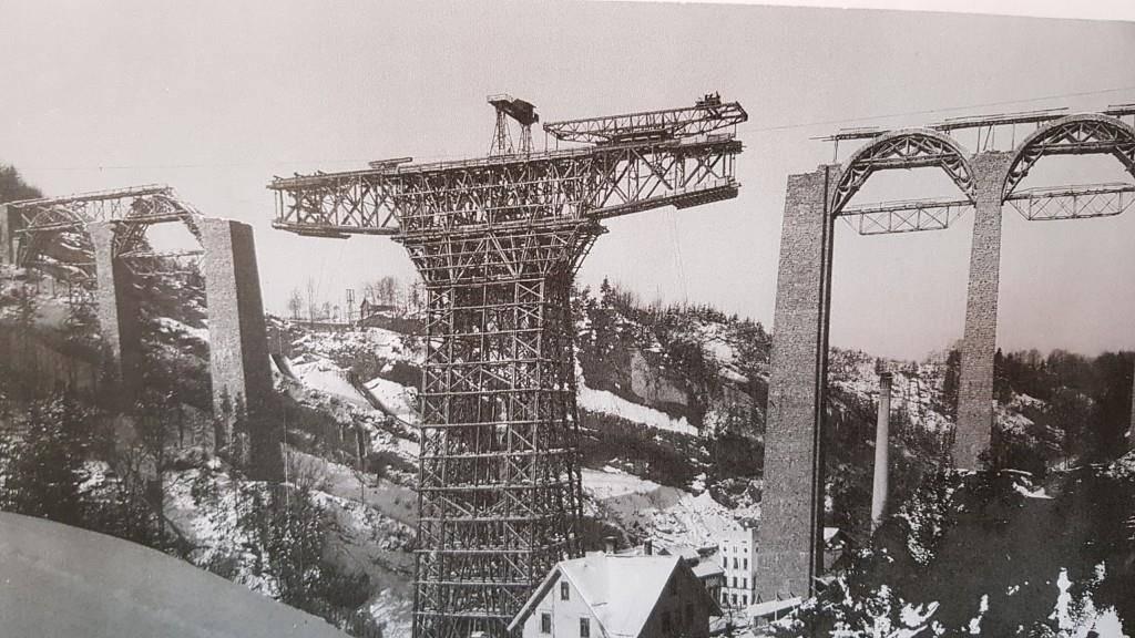 Das Sitter-Viadukt wurde vor 110 Jahren erbaut. (© TVO)