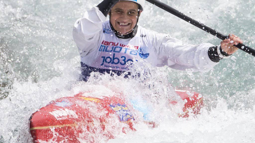 Sabine Eichenberger gewinnt zum Ende ihrer Karriere nochmals eine Bronzemedaille
