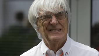 Der Brite Bernie Ecclestone soll der Formel 1 erhalten bleiben