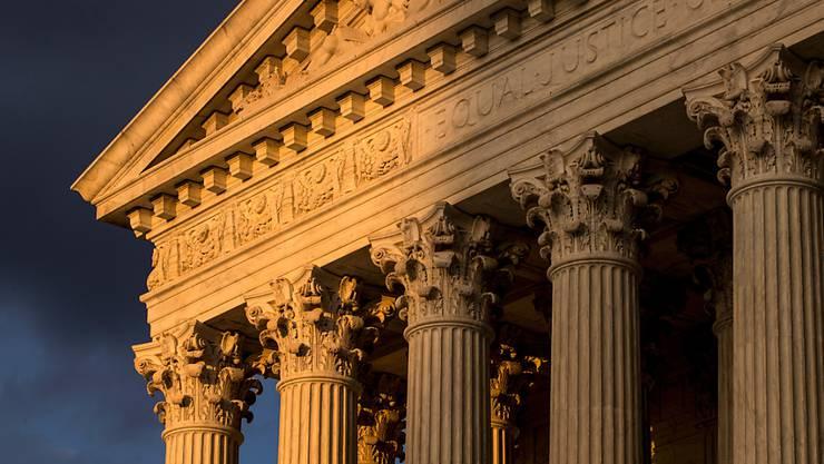 Gebäude des Obersten Gerichts der USA in Washington. (Archivbild)