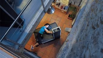 Das Fitnesscenter MEM an der Zeughausgasse in Liestal bietet zusätzlich Physiotherapie an und befindet sich in einem historischen Gebäude.