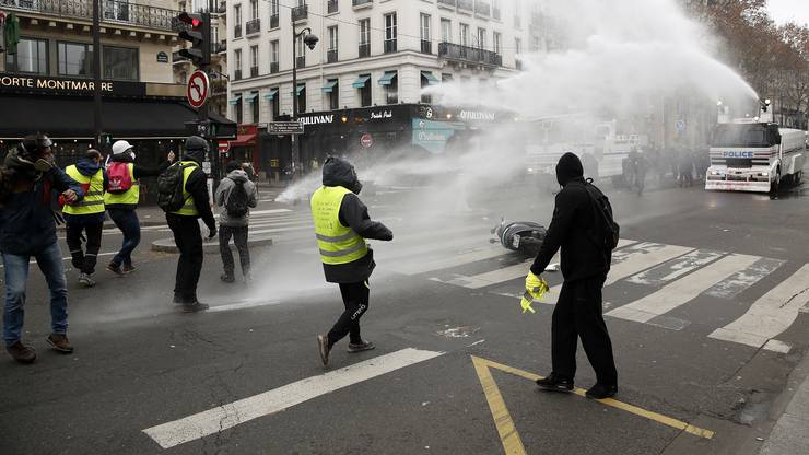 Proteste in Paris.
