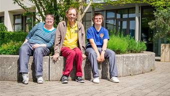 (V.l.) Greta Willax, Otto Schlatter und Anna Schneider laufen am Samstag mit.bsc