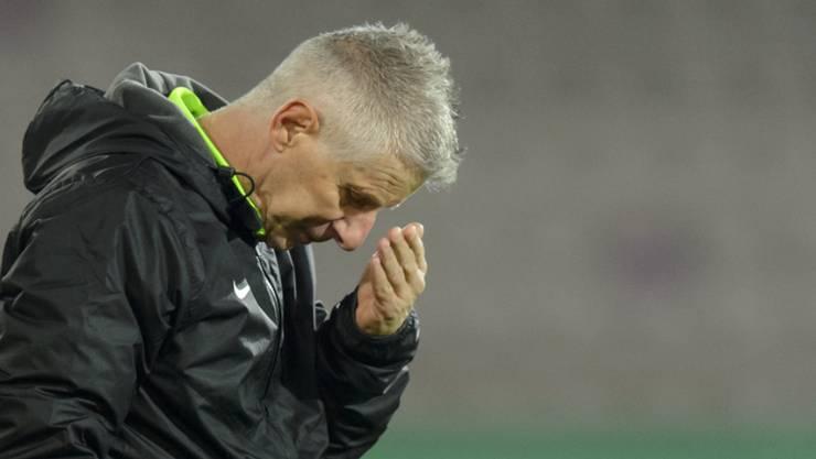 Per sofort nicht mehr Trainer beim FC Aarau: der Tessiner Livio Bordoli.