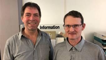 Armin Meier (links) übernimmt wieder von Philipp Kaysel.
