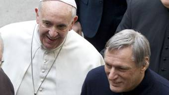 Papst Franziskus und Priester Luigi Ciotti