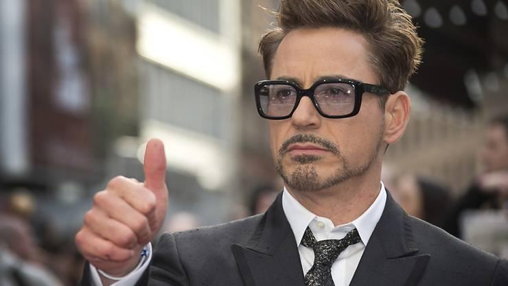 """""""Verdient ein bedingungsloses Pardon"""": Der Gouverneur von Kalifornien hat Hollywood-Star Robert Downey Jr. begnadigt. In den 1990er Jahren war der Schauspieler wegen Drogendelikten mit dem Gesetz in Konflikt geraten. (Archivbild)"""