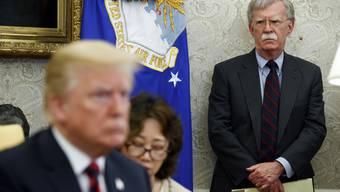 John Bolton stand Donald Trump als Sicherheitsberater während Monaten eng zur Seite.