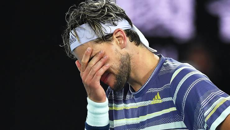 Dominic Thiem verliert zum dritten Mal einen Grand-Slam-Final.