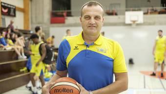 Auch nächstes Jahr Trainer bei den Starwings: Dragan Andrejević.
