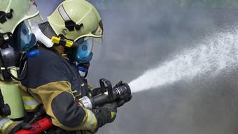 Zwei Hospitalisierte nach einem Wohnungsbrand in Basel. (Symbolbild)