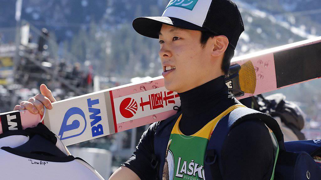 Der Japaner Ryoyu Kobayashi prägte den Skisprungwinter 2018/19.