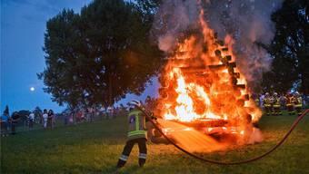 Die 1.-August-Feuer können an den meisten Orten auch dieses Jahr bestaunt werden. Vorsicht ist ohnehin immer geboten.