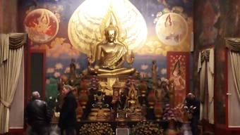 Brand im buddhistischen Tempel in Gretzenbach
