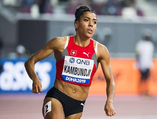 Mujinga Kambundji gewann im Oktober an der WM in Doha über 200 m die Bronzemedaille