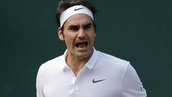 Federer kämpft sich gegen Cilic mit Fünfsatzsieg in den Wimbledon-Halbfinal