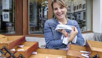Die Gastfreunschaft spielt eine zentrale Rolle im Leben von Fabienne Ballmer.