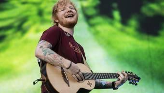 Ed Sheeran am 3.August 2018 im Letzigrund