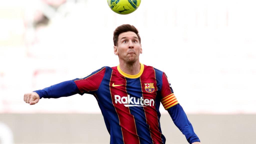 Lionel Messi scheint Barcelonas Leibchen nicht loszuwerden
