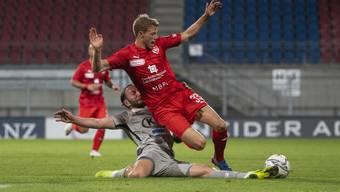 Fussball, Challenge League, FC Vaduz - FC Aarau (14.07.20)