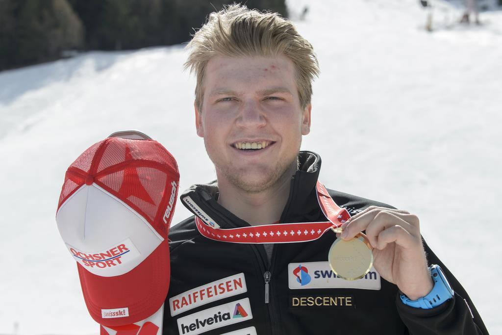 Niels Hintermann wird im 2016 die Schweizer Meister.