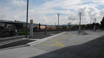 Ein Baugesuch für Info-Stelen am Busbahnhof in Stein liegt derzeit auf. mf/archiv