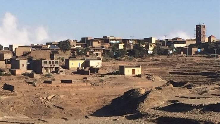 Landschaftsaufnahme aus Eritrea, fotografiert und der «Nordwestschweiz» zur Verfügung gestellt von der Aargauer Politikerin Yvonne Feri.