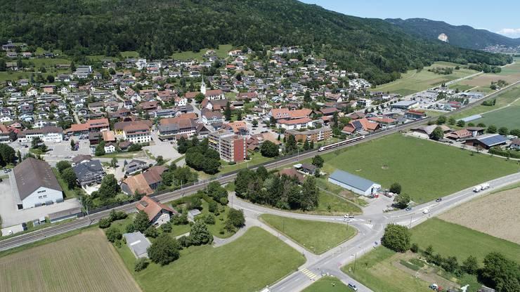 Drohnenfotos Luftbilder Oensingen 06-2019
