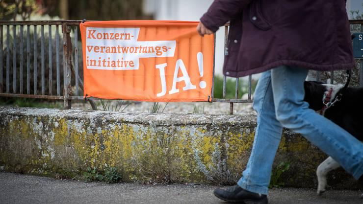 Wohl im November stimmt die Schweizer Bevölkerung über die Konzernverantwortungsinitiative ab.