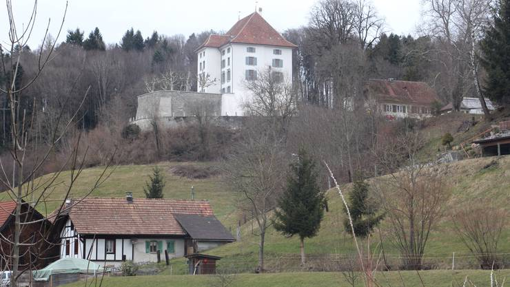 Das Schloss Rued heute: Frisch renoviert.