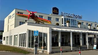 Die SVP traf sich im Airport Hotel.