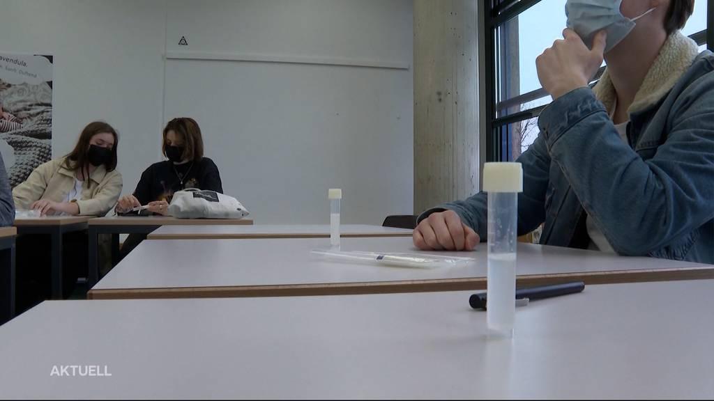 Fehlende Spucktests: Aargauischer Lehrerverband fordert Maskenpflicht