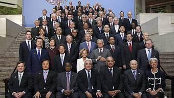 Gruppenfoto der IWF-Teilnehmer in Washington