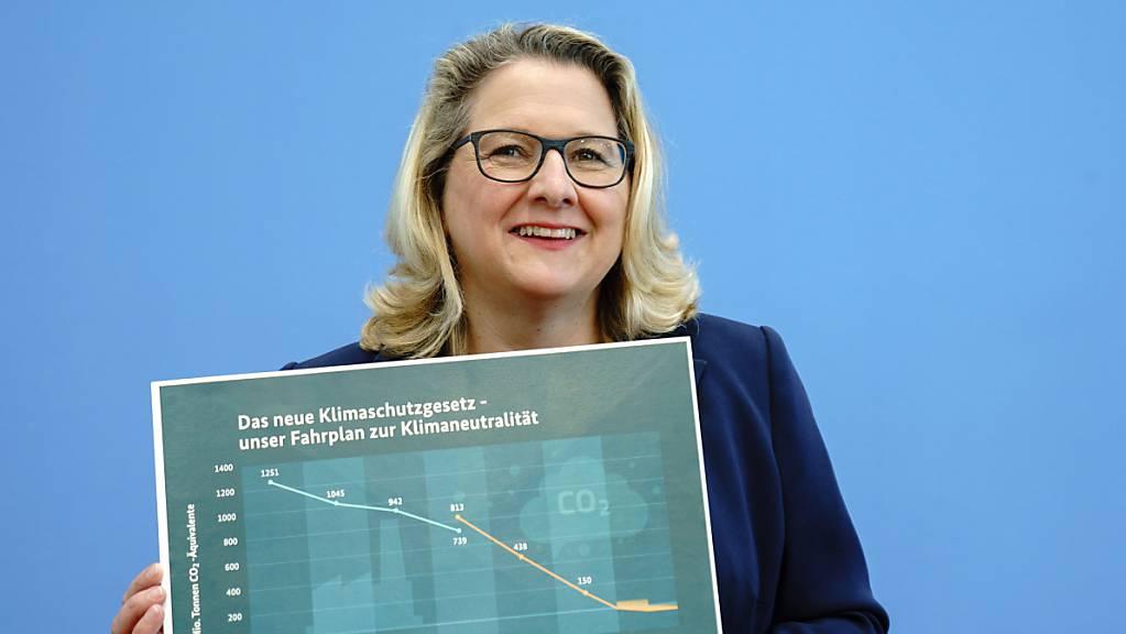 Svenja Schulze, Bundesministerin für Umwelt, Naturschutz und nukleare Sicherheit. Foto: Kay Nietfeld/dpa